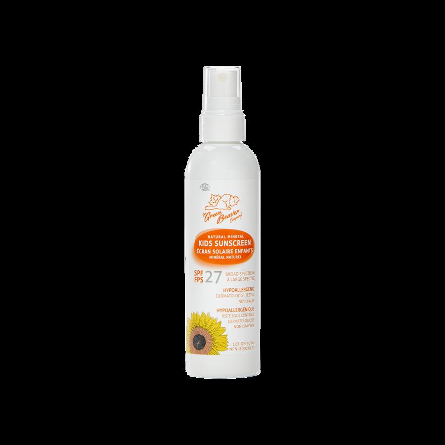 Green Beaver Green Beaver spray-on SPF26 natural mineral sunscreen (90ml)