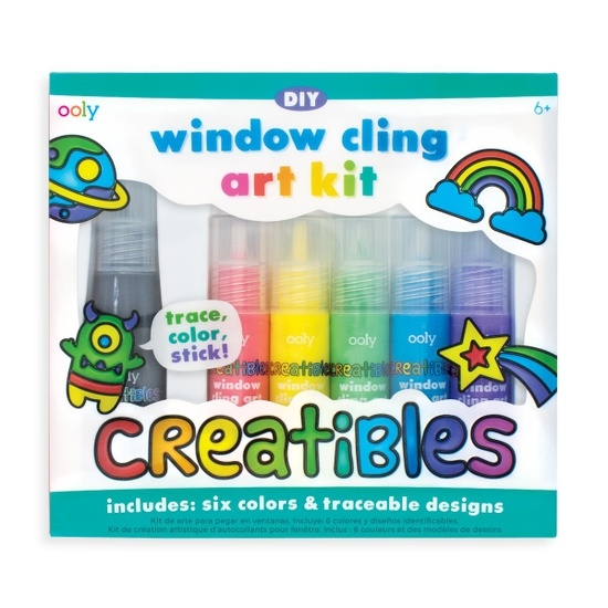 OOLY DIY Window Cling Art Kit (6+)