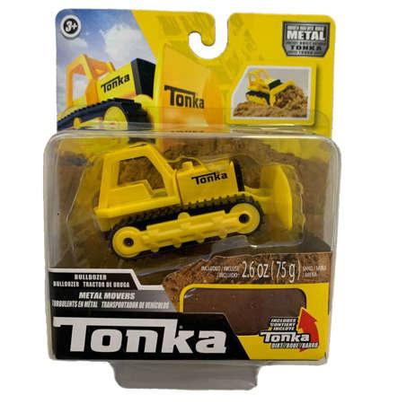 Tonka Tonka Metal Movers -- Bulldozer (3+)