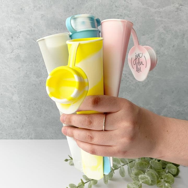 Jululu Silicone Ice Pop Molds (set of 4)