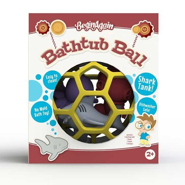 Begin Again Bathtub Ball - Shark Tank (2+)