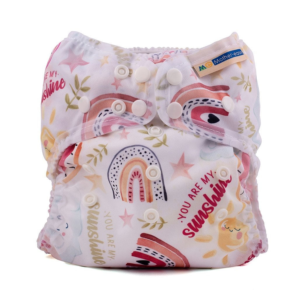 Mother-Ease Mother Ease Wizard Uno AIO Cloth Diapers (7-35 lbs)