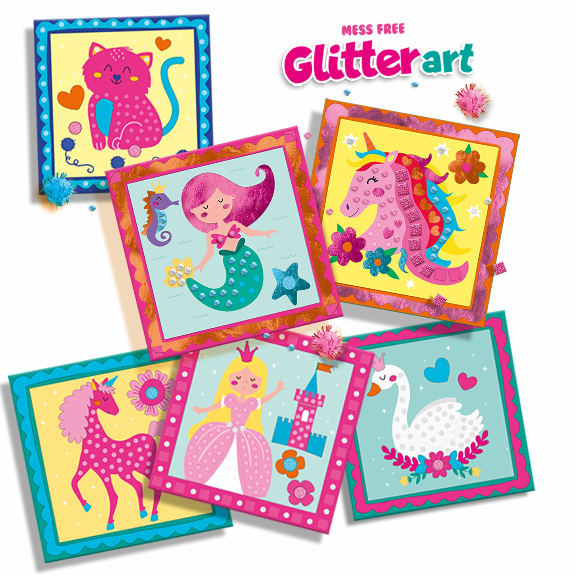SES Creative Mess -free Glitter Art (ages 3-6)