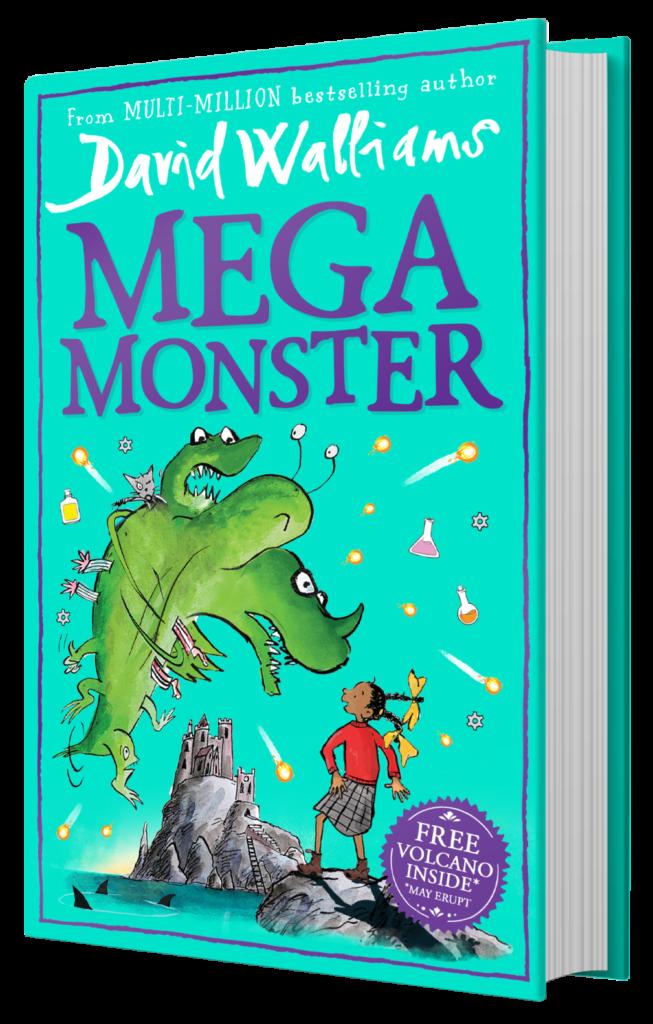 Harper Publishing Mega Monster by David Walliams (9+)