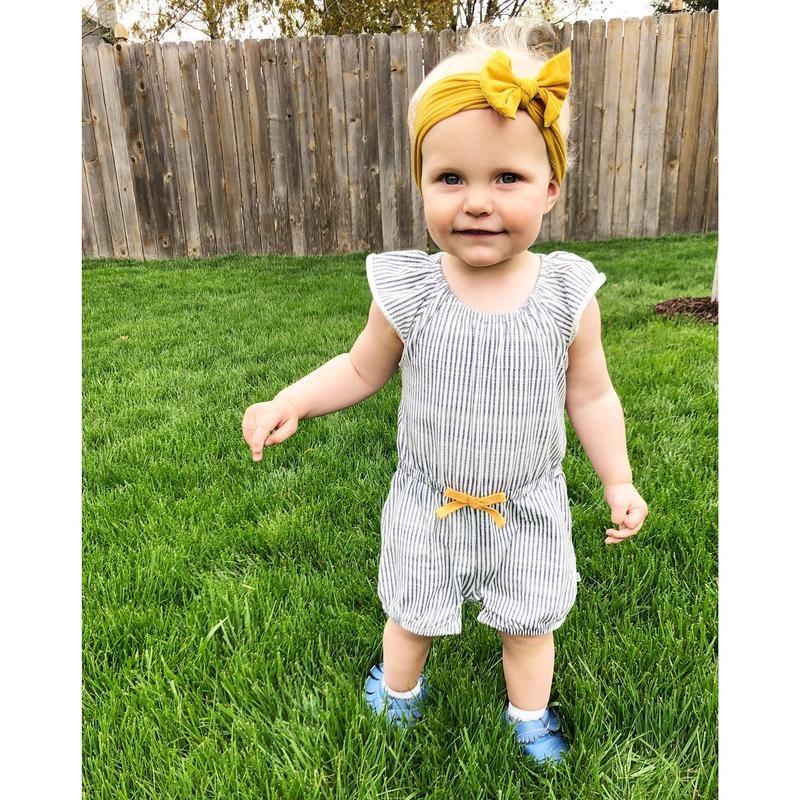 Baby Wisp Nylon Bow Hairband (0-18 months)