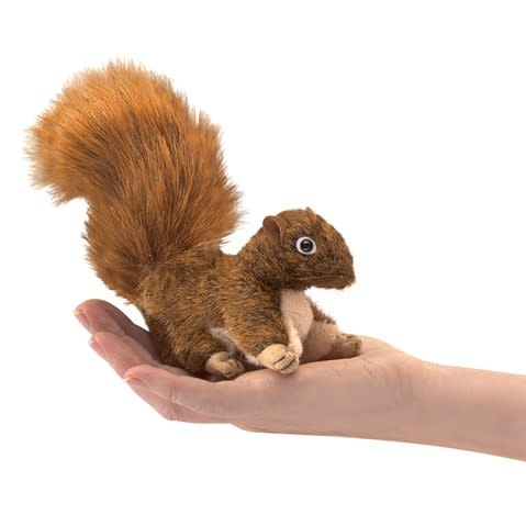 Folkmanis Mini Red Squirrel