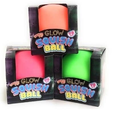 Neon glow-in-the-dark Squish Ball (4+)