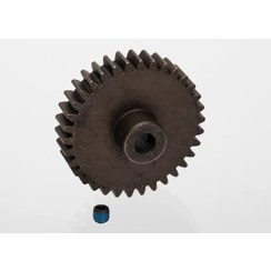 6493 Gear, 34-T pinion (1.0 metric pitch) (fits 5mm shaft)/ set screw
