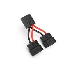 3064x Wire harness, parallel battery connection (compatible with Traxxas? High Current Connector, NiMH only)