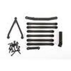 AXI204000 Suspension Links, Long Wheel Base 133.7mm: SCX24