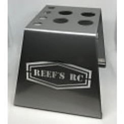 SEHREEFS39 Hardened Steel Car Stand w/ Shock Holes - Gray
