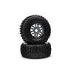 ARA550069 dBoots 'Fortress' Tyre Set Glued Gun Metal (Pair)