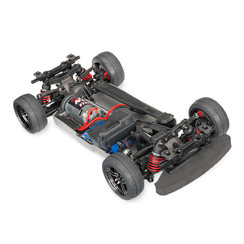 83024-4-R5 4-Tec 2.0: 1/10 Scale AWD Chassis with TQ 2.4GHz Radio System