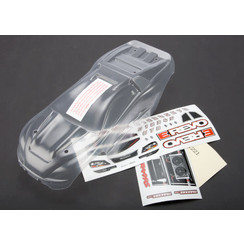 7111 Body, 1/16 E-Revo® (clear, requires painting)/ grille and lights decal sheet