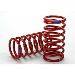 5445 Spring, shock (red) (GTR) (6.4 rate purple) (1 pair)