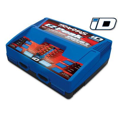 Traxxas 2972 - Traxxas® EZ-Peak® Dual 100W NiMH/LiPo dual charger with iD® Auto Battery Identification