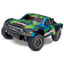 68077-4 Slash GREEN 4X4 Ultimate:  1/10 Scale 4WD Electric Short Course Truck with TQi Radio System, Traxxas Link? Wireless Module, & Traxxas Stability Managment (TSM)?
