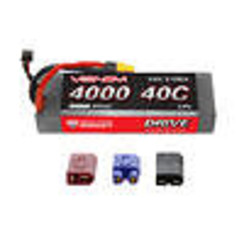 VNR15056 DRIVE 40C 2S 4000mAh 7.4V LiPo HC ROAR :UNI 2.0