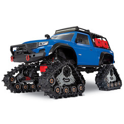 82034-4 - TRX-4® with All-Terrain Traxx™: 1/10 Scale 4WD Electric Truck. Ready-to-Race® with TQ 2.4GHz Radio System, XL-5 HV ESC (fwd/rev), and Titan® 550 motor.