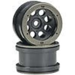AXIC8097 AX8097 2.2 8-Hole Beadlock Black