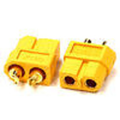 INTC24548 XT60 Connector (2) Female 3.5mm
