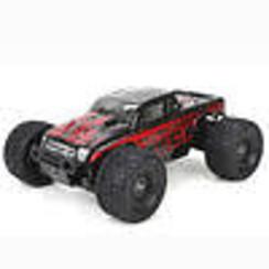 ECX01000T1 Ruckus 1/18 4WD Monster Truck: Black/Red RTR