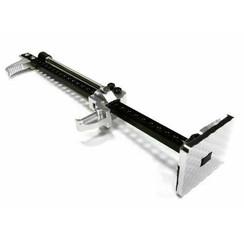 C26129SILVER  Aluminum T2 Realistic Scale Model Hi-Lift Jack Stand 1/10
