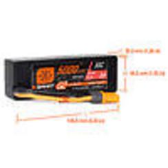 SPMX53S30H5 5000mAh 3S 11.1V Smart G2 LiPo 30C Hard Case; IC5