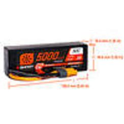 SPMX53S50H5 5000mAh 3S 11.1V Smart G2 LiPo 50C Hard Case; IC5