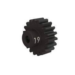 3949x Gear, 19-T pinion (32-p), heavy duty (machined, hardened steel)/ set screw