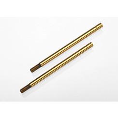 2765T - Shock shafts, hardened steel, titanium nitride coated (X-long) (2)