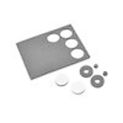 JCO2704 Foam Adhesive Body Washers - 12pc