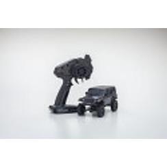 KYO32521GMMini-Z 4x4 Jeep Wrangler Unlimited Rubicon, Granite Crystal Metallic, Readyset