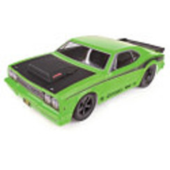 ASC70026CDR10 Drag Race Car, 1/10 Brushless 2WD RTR, w/ LiPo Battery & Charger, Green