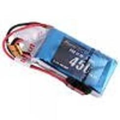 GEA4503S25J 450mAh 11.1V 25C 3S1P Lipo Battery Pack w/ JST-SYP