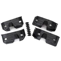 8018 - Fenders, inner, front & rear (2 each)/ rock light covers (8)