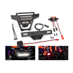 9095 - LED light set, complete (includes front and rear bumpers with LED lights, 3-volt accessory power supply, and power tap connector (with cable) (fits #9011 body)