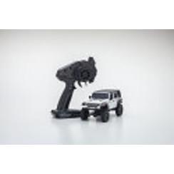 KYO32521WMini-Z 4x4 Jeep Wrangler Unlimited Rubicon, Bright White, Readyset