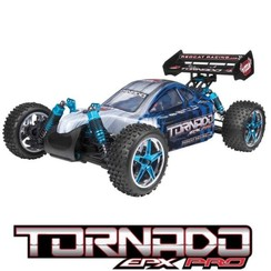 1/10 Scale Brushless Electric Buggy - Blue/Silver