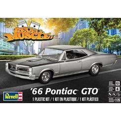 REVELL-MONOGRAMRMX-44791/25 1966 Pontiac GTO