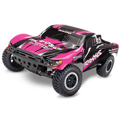 58034-1-PINK Slash: 1/10-Scale 2WD Short Course Racing Truck with TQ 2.4GHz radio system