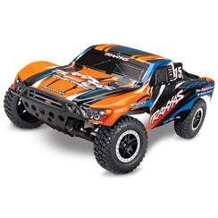 58034-1-ORNG Slash: 1/10-Scale 2WD Short Course Racing Truck with TQ 2.4GHz radio system