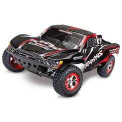 58034-1-BLACK Slash: 1/10-Scale 2WD Short Course Racing Truck with TQ 2.4GHz radio system