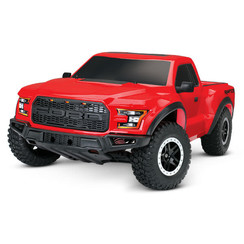 58094-1-RED Ford F-150 Raptor: 1/10-Scale Ford F-150 Raptor with TQ 2.4GHz radio system