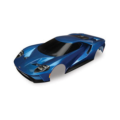 8311A - Body, Ford GT®, blue (painted, decals applied) (tail lights, exhaust tips, & mounting hardware (part #8314) sold separately)