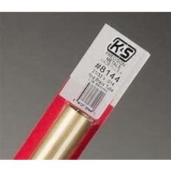 "KNS-814421/32""x12"" Round Brass Tube .014 Wall (1)"