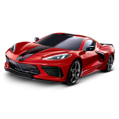 93054-4 - Chevrolet® Corvette® Stingray: 1/10 Scale AWD Supercar. Ready-To-Race® with TQ 2.4GHz radio system and XL-5 ESC (fwd/rev).