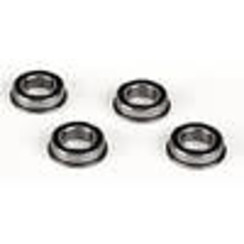 LOSA6948 8x14x4 Flanged Rubber Seal Ball Bearing (4)