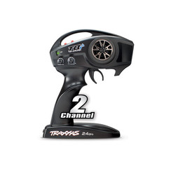 Transmitter, TQi Traxxas Link? enabled, 2.4GHz high output, 2-channel (transmitter only)