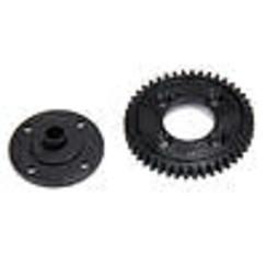 LOSA3561 44T Spur Gear, Plastic: 8E 2.0